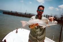 Redfish Roper Fishing Guide - Rockport Port O'Connor and Seadrift.